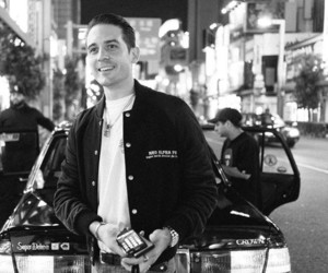black and white, rapper, and g eazy image