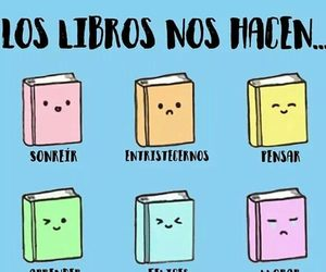 books, libros, and memes image