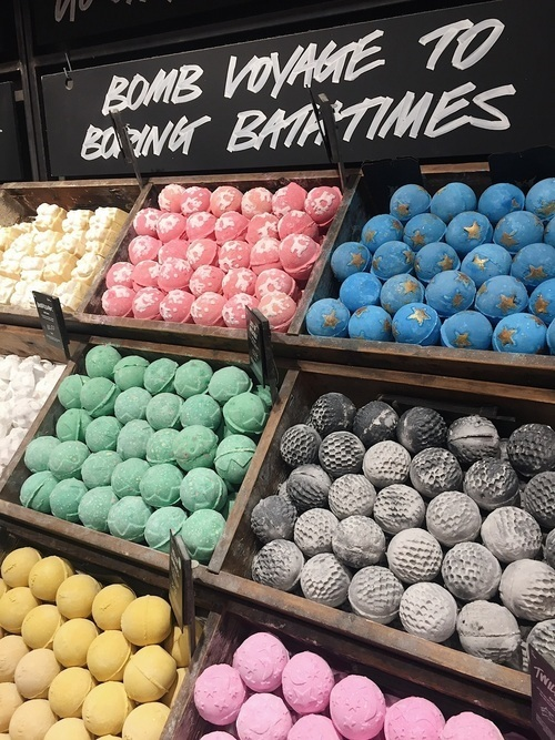 bath, bombs, and colorful image
