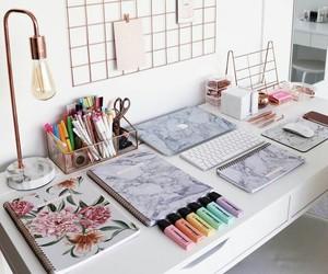 decor, school, and study image