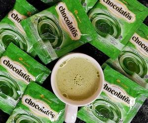 beverage, greentea, and green image