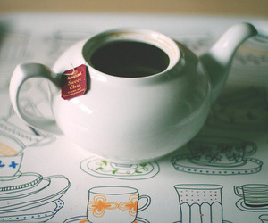 vintage, tea, and indie image