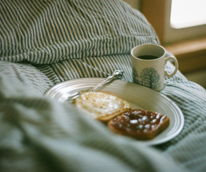 breakfast, coffee, and cozy image
