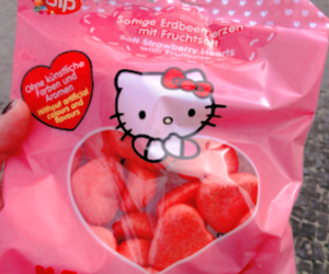 hello kitty, food, and aesthetic image