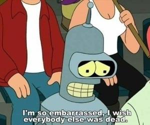 futurama, Bender, and funny image
