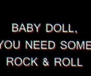 doll and rock n roll image