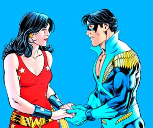 dick grayson, dc comics, and nightwing image