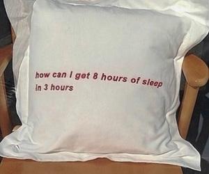 sleep, pillow, and funny image