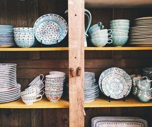 antique, vintage, and pottery image
