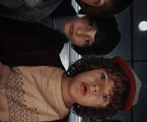 stranger things, lucas, and mike image