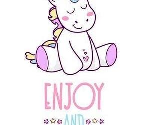 Dream, unicorn, and enjoy image
