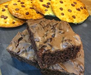 brownies, food, and nourriture image