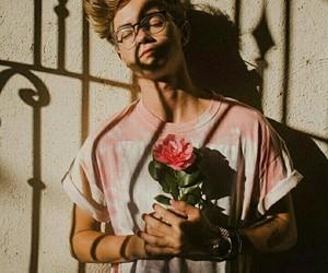 jack johnson, rose, and aesthetic image