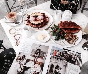 food, luxury, and vogue image