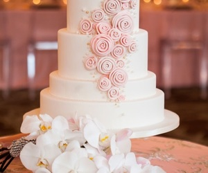 food and wedding cake image