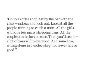 coffee shop, couples, and glass window image
