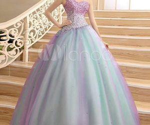 azul, morado, and vestidos image