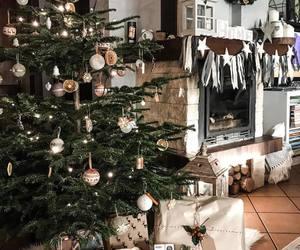 christmas, flat, and home image