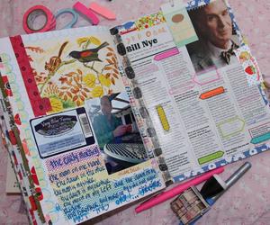 art journal, upcycle, and handmade image
