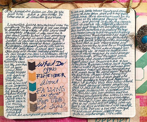 art journal, create, and notebook image