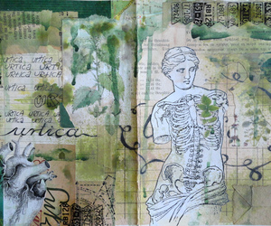 Collage, journal, and mixedmedia image