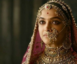 bollywood, deepika padukone, and padmavati image