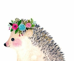 cute, art, and flowers image