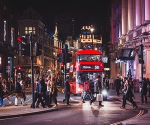 lights, london, and photography image