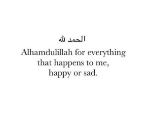 islam, quotes, and alhamdulillah image