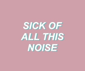 alone, sick, and halsey image