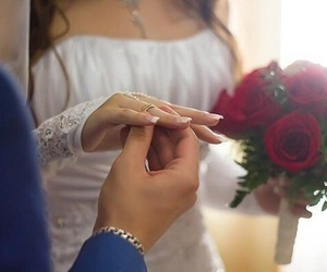 wedding and ring image