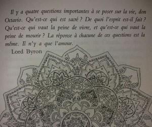 quotes, citation, and mandala image