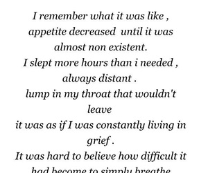 deep, depression, and poetry image