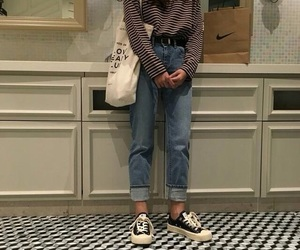 girl, outfit, and style image