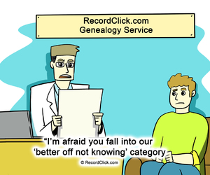 genealogy services, tracing family history, and family tree review image