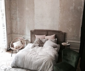 bedroom, cool, and home image