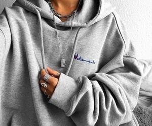 fashion, champion, and grey image
