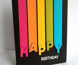 birthday, colorful, and diy image