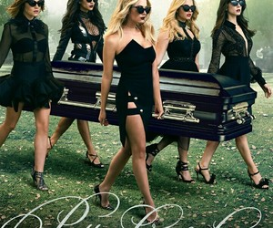 poster, tv show, and pretty little liars image