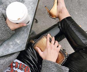 fashion, chic, and coffee image