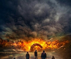 poster, the 100, and tv show image