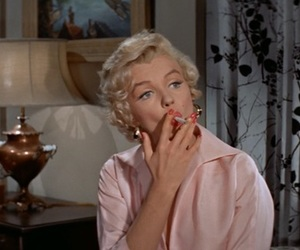Marilyn Monroe, beautiful, and pink image