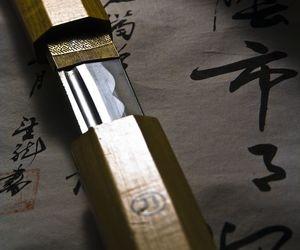 katana, sword, and japan image