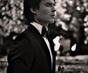 tvd, ian somerhalder, and damon salvatore image