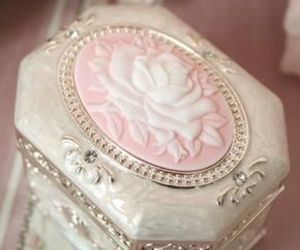 pink, box, and cameo image