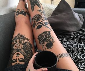 ink, tattoo, and tatuagens image