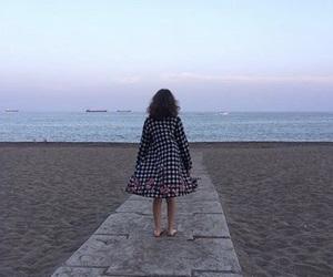 beach, Malaga, and sky image