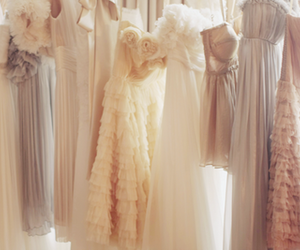 dresses, pretty, and vintage dresses image