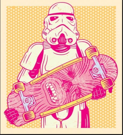 skate and star wars image