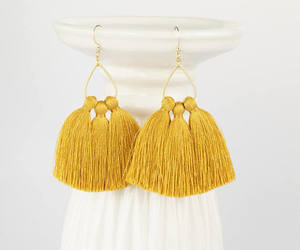 etsy, fashion jewelry, and statement earrings image